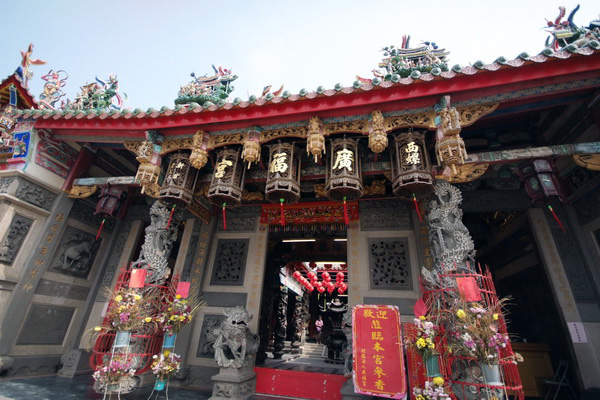 廣福宮建築雕飾