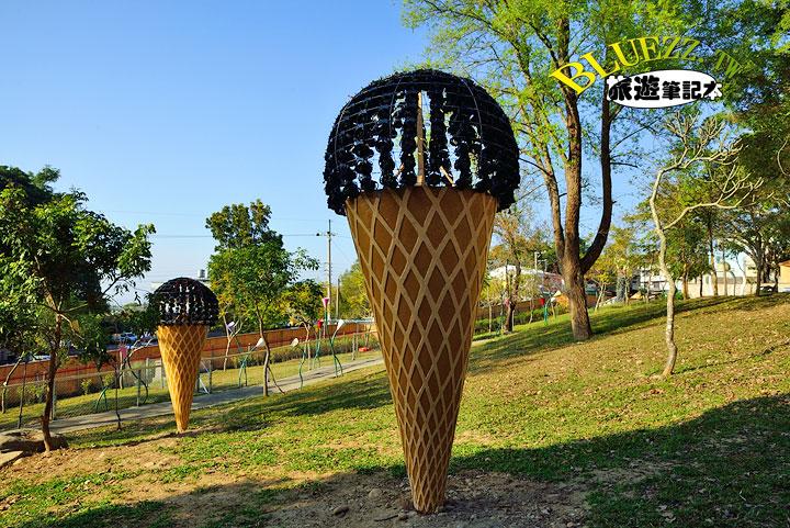 百果山克林姆莊園 09.好大的冰淇淋