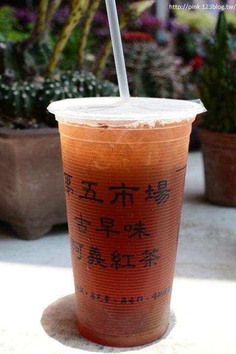 【台中第五市場】太空紅茶冰、阿義紅茶、海苔飯捲、樂群冷凍芋。美味小吃看這裡!-DSC_0829.jpg