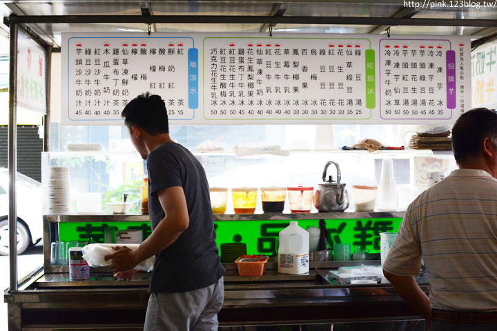 【台中第五市場】太空紅茶冰、阿義紅茶、海苔飯捲、樂群冷凍芋。美味小吃看這裡!-DSC_0868.jpg