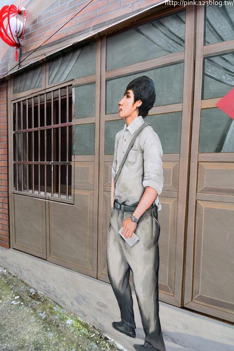 台中沙鹿「美仁里彩繪巷」,全台首創屬於台灣味的復古彩繪。-DSC_1161.jpg