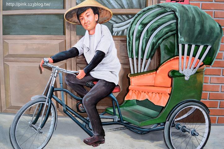 台中沙鹿「美仁里彩繪巷」,全台首創屬於台灣味的復古彩繪。-DSC_1164.jpg
