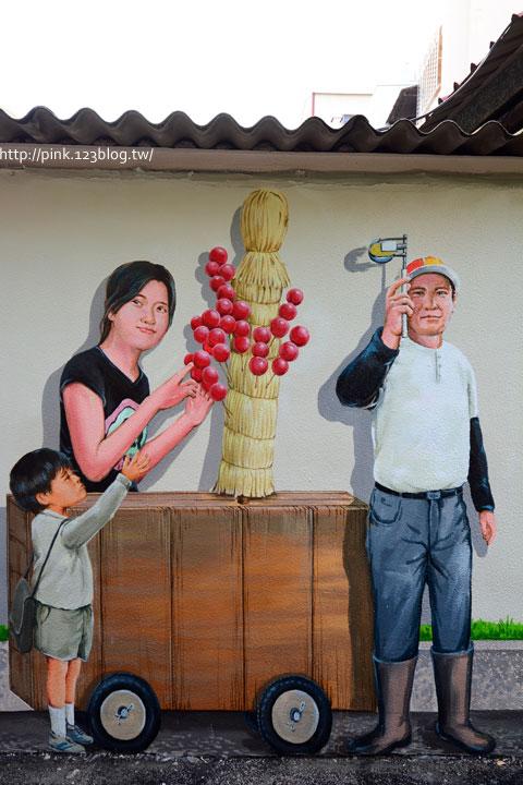 台中沙鹿「美仁里彩繪巷」,全台首創屬於台灣味的復古彩繪。-DSC_1218.jpg