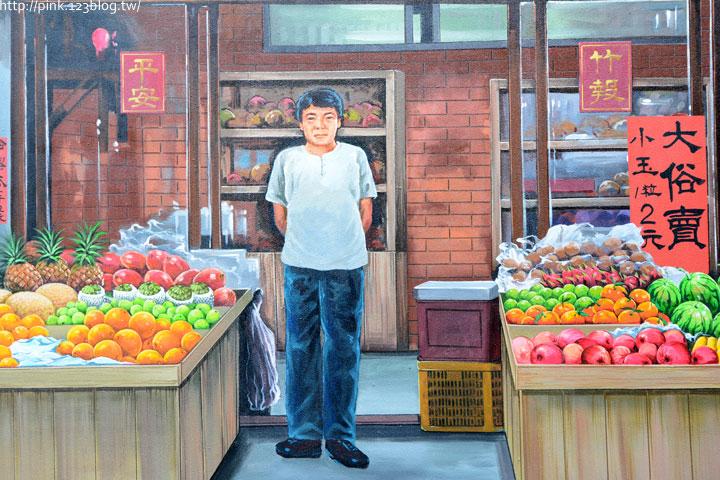 台中沙鹿「美仁里彩繪巷」,全台首創屬於台灣味的復古彩繪。-DSC_1245.jpg