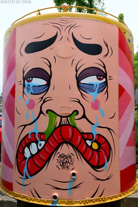 【台中景點】台中文創園區。老酒桶大變身,繽紛彩繪超吸睛!-DSC_2362.jpg