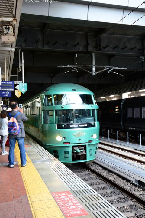【日本九州】搭乘由布院之森列車,遊湯布院、賞金麟湖-DSC_6738.jpg