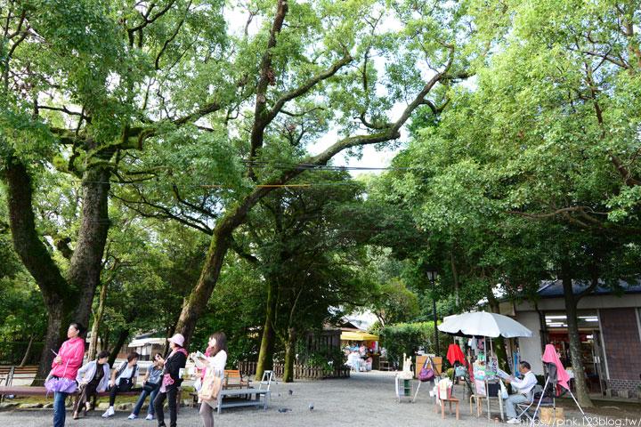 【日本九州】熊本水前寺成趣園。回遊式庭園令人駐足!-DSC_7214.jpg