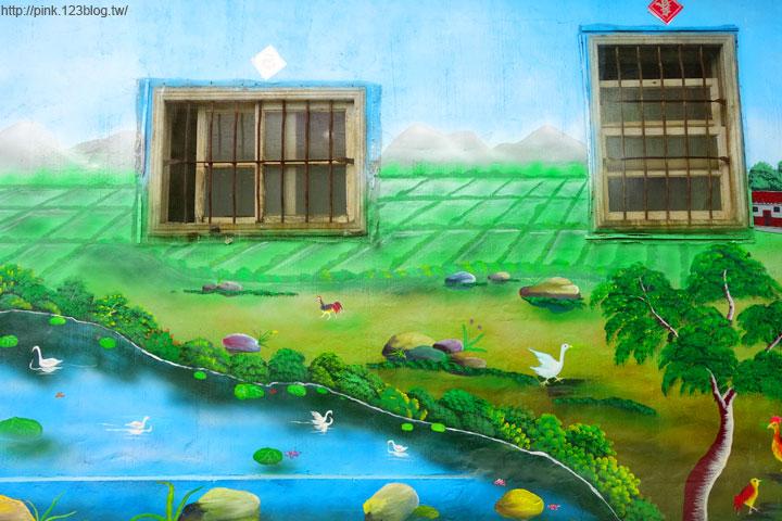 【芬園景點】寶山社區立體農村彩繪巷。沒想到我家也是彩繪村!-DSC00532.jpg