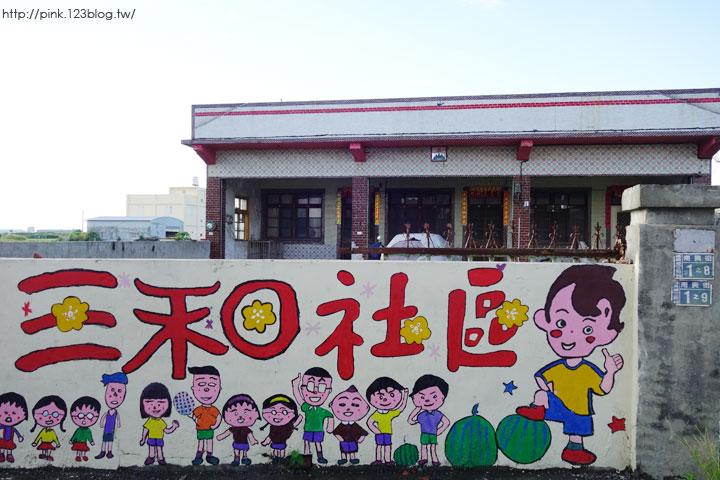 【彰化福興景點】三和社區西瓜彩繪村。每一個卡通人物,都是西瓜的代言人,超萌!-DSC02269.jpg