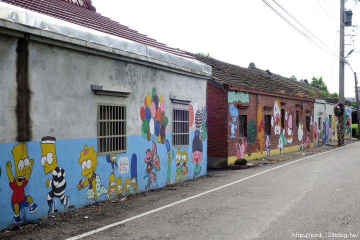 【彰化福興景點】三和社區西瓜彩繪村。每一個卡通人物,都是西瓜的代言人,超萌!-DSC02317.jpg