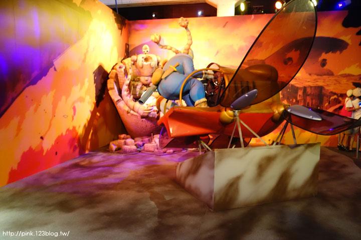 【台北展覽】吉卜力的動畫世界特展。經典宮崎駿動畫搬到華山文創,期間限定要看要快!-DSC04426.jpg