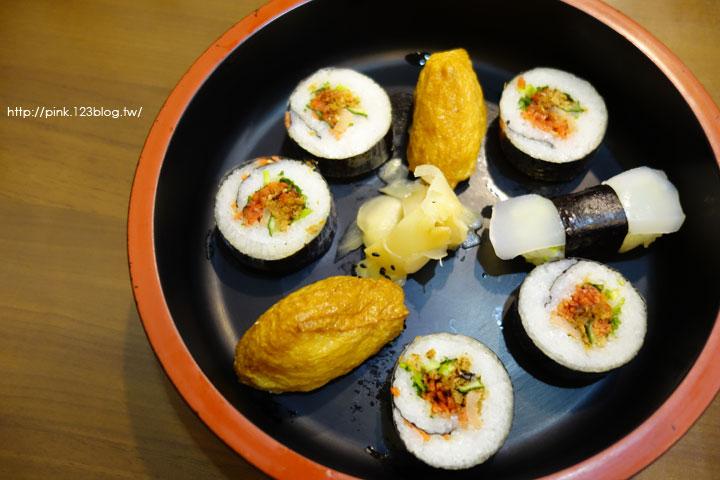 【草屯蔬食】福田日式蔬食壽司屋。日式風味蔬食料理,讓你吃的健康又滿足!-DSC04776.jpg