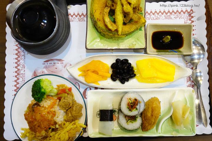 【草屯蔬食】福田日式蔬食壽司屋。日式風味蔬食料理,讓你吃的健康又滿足!-DSC04812.jpg