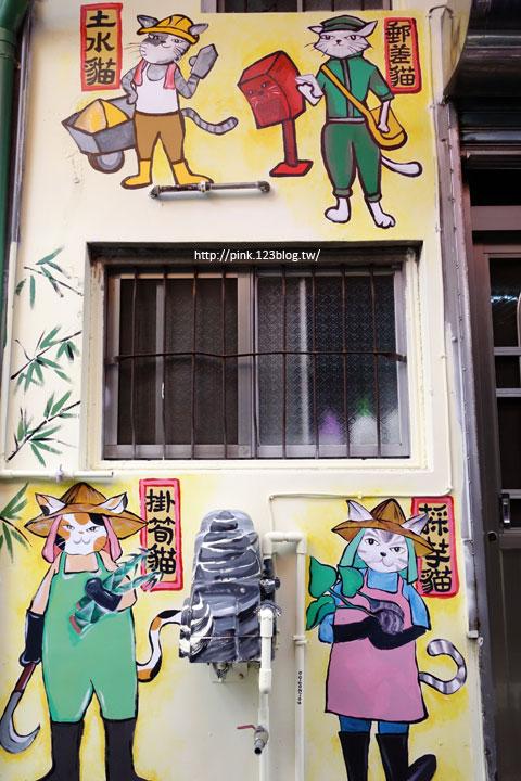 【高雄甲仙】甲仙貓巷。彩繪貓咪+傘傘動人,整個巷子繽紛又吸睛!-DSC07617.jpg
