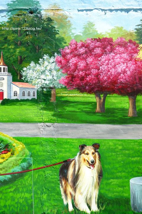 【彰化新景點】忠權社區彩繪巷。3D立體狗彩繪,超萌上鏡!-DSC08293.jpg