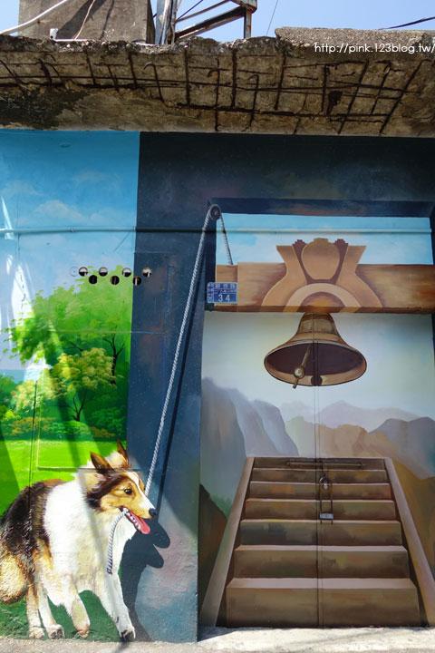 【彰化新景點】忠權社區彩繪巷。3D立體狗彩繪,超萌上鏡!-DSC08354.jpg