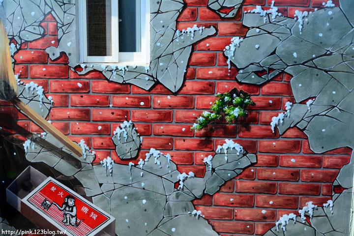 【台中石岡】九房里3D立體彩繪童話村。傑克與魔豆、青蛙王子、巫婆的糖果屋等童話故事躍上牆面,吸睛度百分百!-DSC_1551.jpg