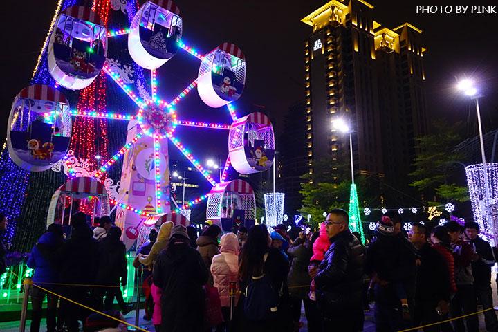 【台中耶誕YA】台中市政府耶誕嘉年華活動,多項遊樂設施讓你玩的過癮!-DSC01658.jpg