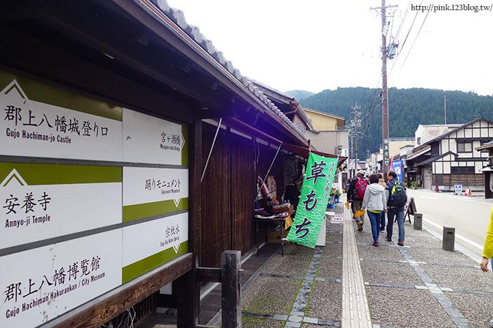 【日本北陸】郡上八幡老街散策趣。舞城、食品模型,很有風格的小鎮!-DSC00321.jpg