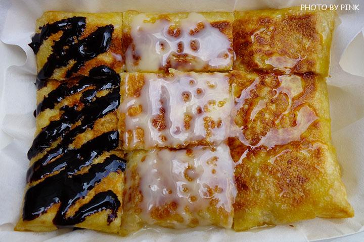 【彰化員林美食】香蕉煎餅.泰式奶茶。濃濃的異國風味小吃,沙哇滴卡~-DSC01205.jpg