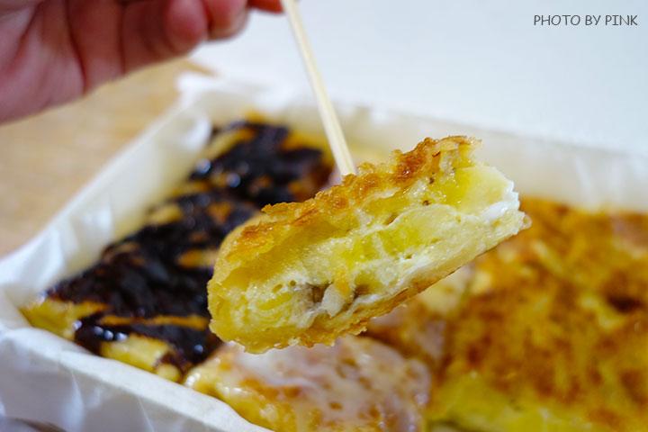 【彰化員林美食】香蕉煎餅.泰式奶茶。濃濃的異國風味小吃,沙哇滴卡~-DSC01243.jpg