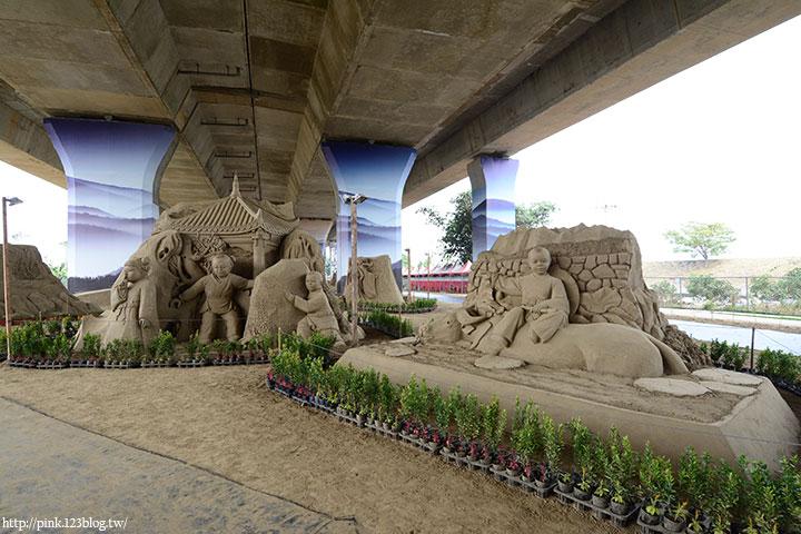 【南投景點】2017南投國際沙雕文化藝術展。來一場沙雕奇景的視覺饗宴!-DSC_6906.jpg