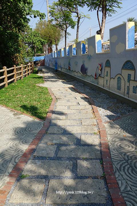 【彰化大村】地中海風格之雙心步道。遊走步道甜蜜滿分!(雙心池塘旁)-DSC04311.jpg