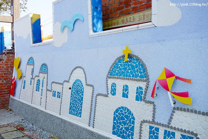 【彰化大村】地中海風格之雙心步道。遊走步道甜蜜滿分!(雙心池塘旁)-DSC04339.jpg