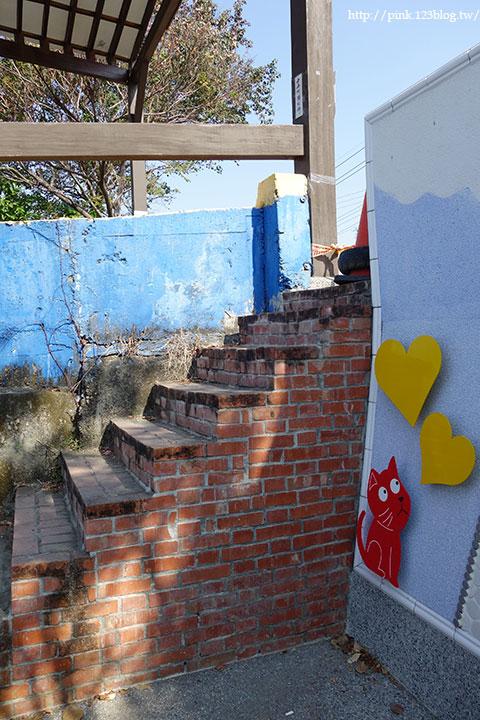 【彰化大村】地中海風格之雙心步道。遊走步道甜蜜滿分!(雙心池塘旁)-DSC04341.jpg