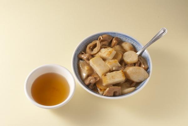 煎盤粿、滷大腸、米腸