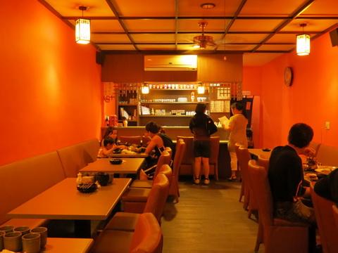 簡潔的用餐空間