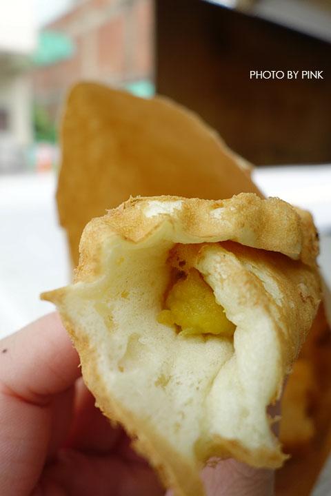 【南投市甜點】香香雞蛋糕。在地隱藏版甜蜜小點心,就在台灣銀行旁!-DSC00086.jpg