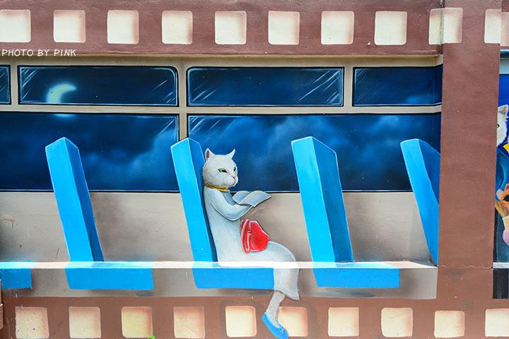 【嘉義布袋景點】布新國小貓咪彩繪牆。讓我們一起見證喵星人的愛情故事!(就在高跟鞋教堂旁)-DSC_1650.jpg