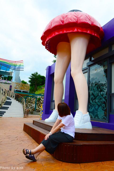 【台中景觀餐廳】彩虹山舍。短裙美腿造景+繽紛彩虹筆超吸睛!(景點/美食/民宿)-DSC_6123.jpg