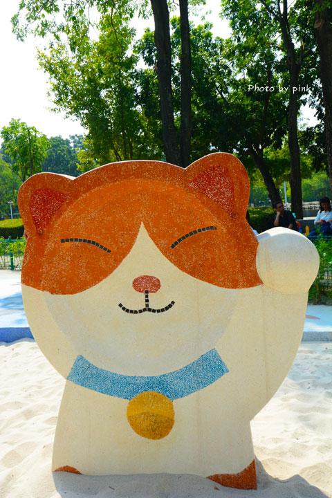 【嘉義民雄新景點】打貓親子廣場。貓奴注意!