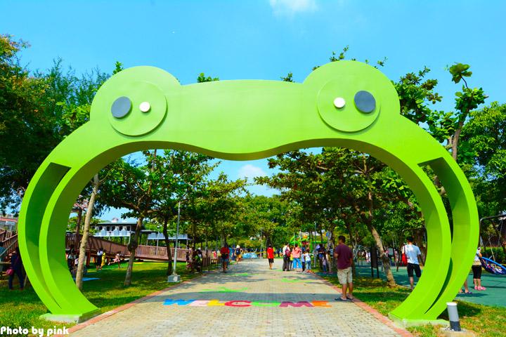 【嘉義市景點】文化公園。樹蛙成長日記為主題的共融式遊戲場,豐富有趣又好玩!-DSC_9051.jpg
