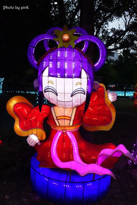 【2019南投市燈會】金豬賀歲來報喜,藍色燈海浪漫極緻,就在中山公園!-DSC03938.jpg
