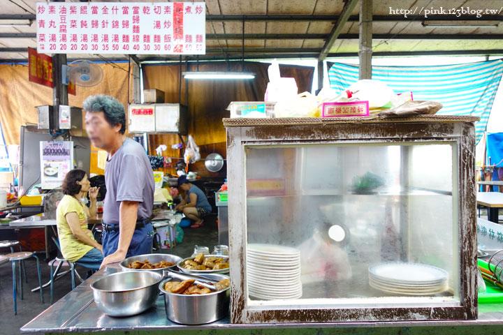 【竹山素食】廟口素食麵。平價素食小吃,台式就是古早味!(連興宮旁)-DSC01842.jpg