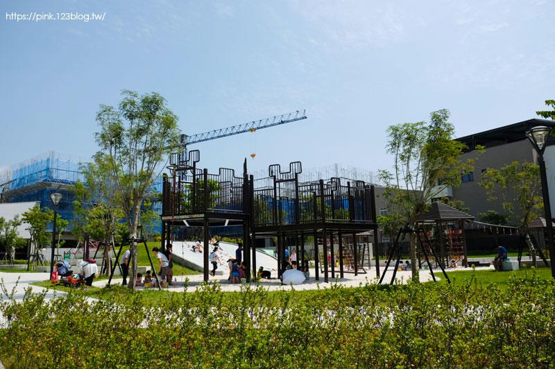 【台中大雅公園】二和公園。最貴公園在這裡~首座蜂巢意象遊具無敵新鮮好玩!-DSCF6711.jpg