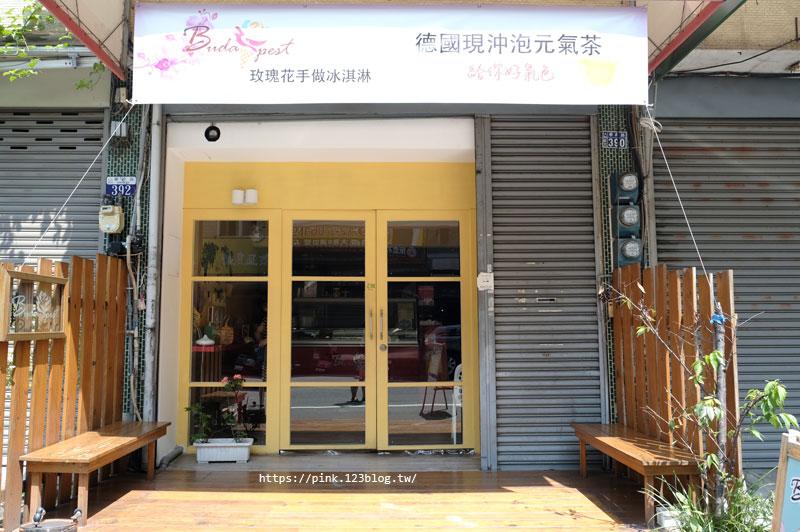 【大雅冰店】布達佩斯冰淇淋專賣店。冰淇淋也能製作成玫瑰花!?這也太浪漫夢幻了!-DSCF7085.jpg