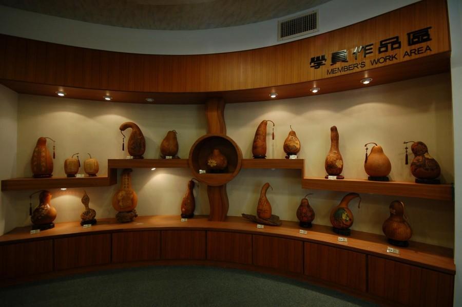 杉林新莊國小葫蘆雕刻藝術館