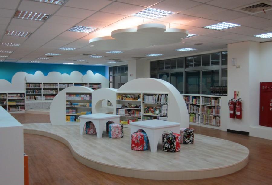 臺南生活美學館-親子閱覽室